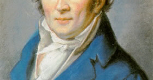 Philipp Jacob Becker, Johan Peter Hebel, 1795,  Pastell